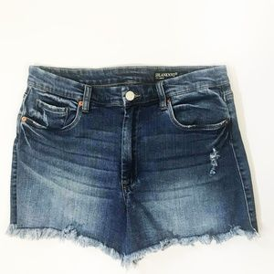 Blank NYC Denim Short- The Lenox High Rise Blue 31